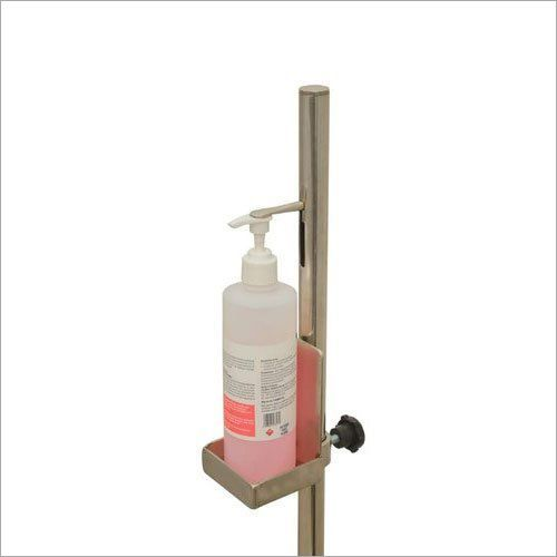MS/SS Foot Operated Sanitizer Dispenser Stand