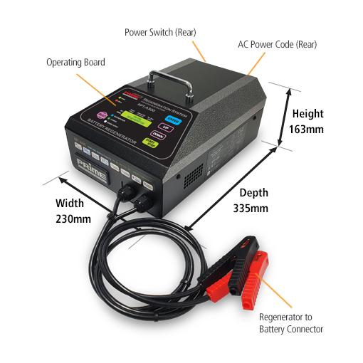 Battery Regenerator RPT-A300