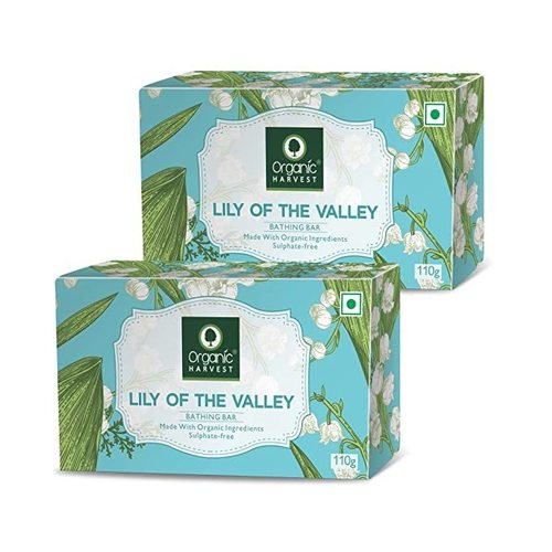 Organic Harvest Lily Bathing Bar 110g