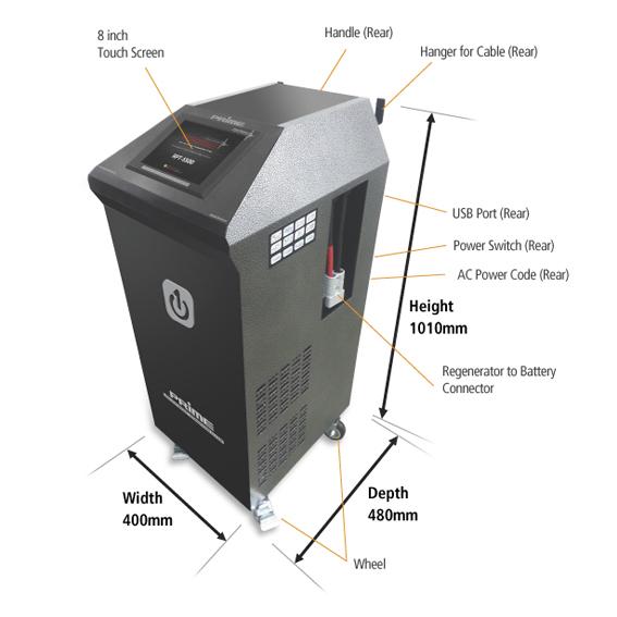 RPT-S500 Battery Regenerator