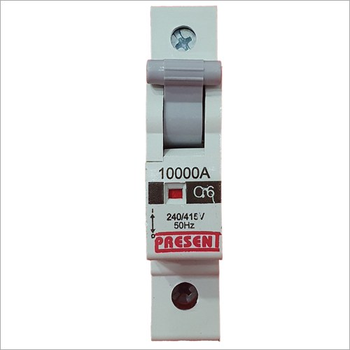 Single Pole Miniature Circuit Breaker