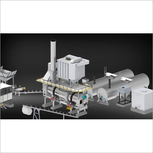 CFD-120 Counter Flow Drum Mix Plant