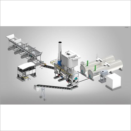 CFD-90 Counter Flow Drum Mix Plant