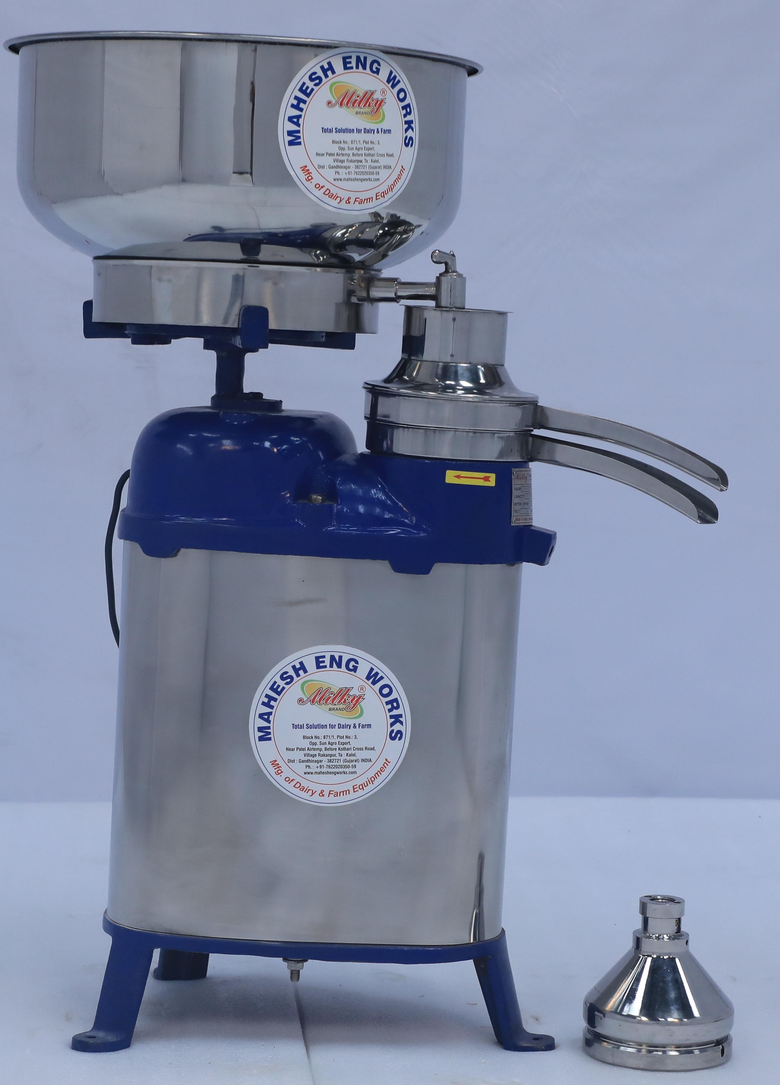 MILKY cream separator 500 LPH stainless steel