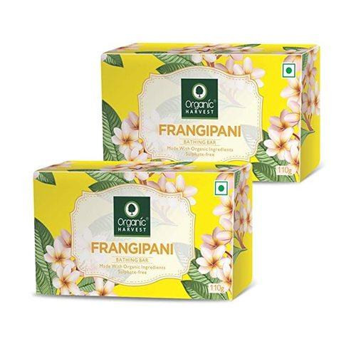 Organic Harvest Frangipani Bathing Bar 110g