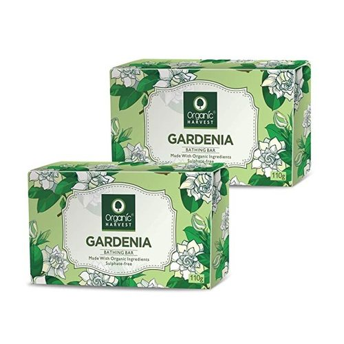 Organic Harvest Gardenia Bathing Bar