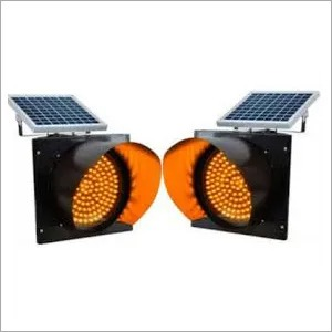 Solar Street Light Traffic Blinkers