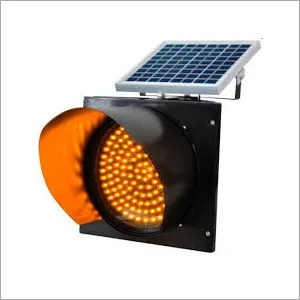 Solar Traffic Blinker Light