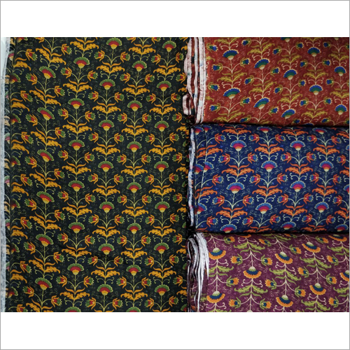 Floral Digital Print Fabric