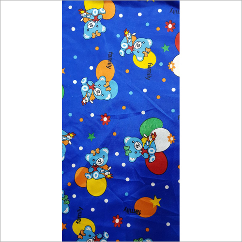 Cartoon Digital Print Fabric
