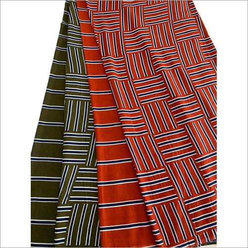 Pattern Printed Dress Material Fabric
