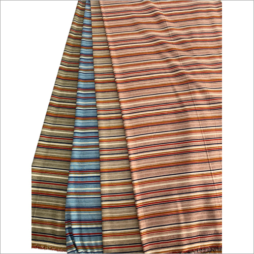 Striped Dress Material Fabric