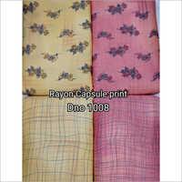 Rayon Capsule Print Fabric