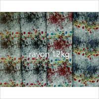12 Kg Rayon Print Fabric