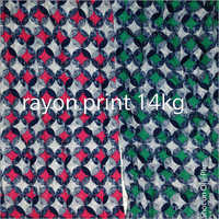 14 Kg Rayon Printed Fabric