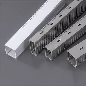 GW Slotted - Solid Wall Wiring Ducts