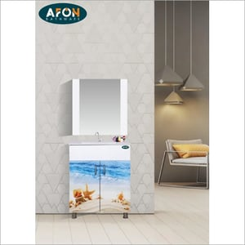 Designer Print PVC Vanity Cabinet