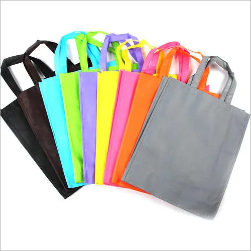 Loop Handle Woven Carry Bag