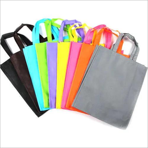 Loop Handle Woven Carry Bag