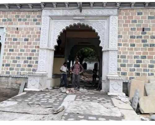 Rajputana stone gate