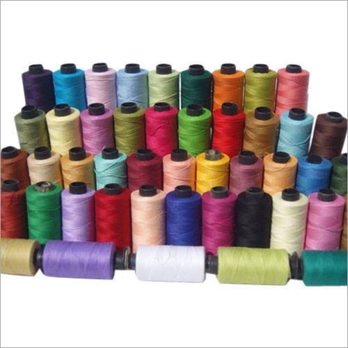 Multicolored Polyester Viscose Normal Yarn