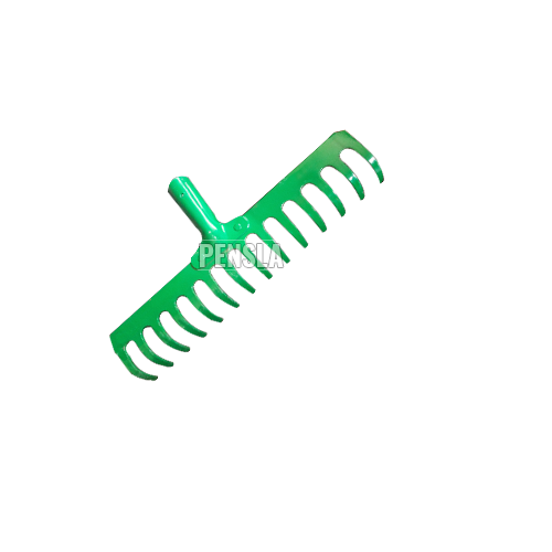 Garden Rake with straight tines