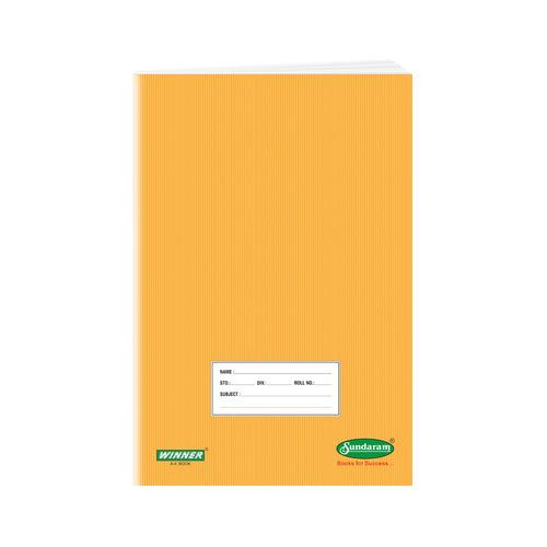 Sundaram Winner Brown A/4  Book - 76 Pages (C-18B)