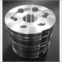 Precision Machined Component With Silver Plating