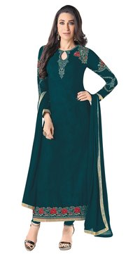 Georgette Embroidery Salwar Suit