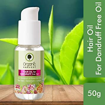 Organic Harvest Hair Oil For Dandruff Free