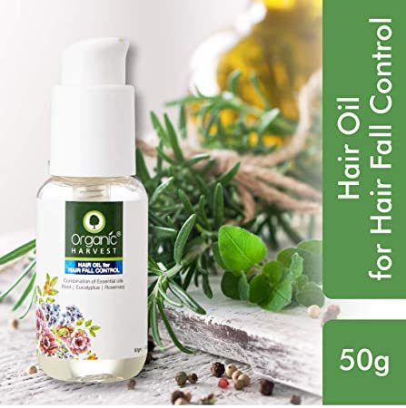 Organic Harvest Hair Oil For Hair Fall Control