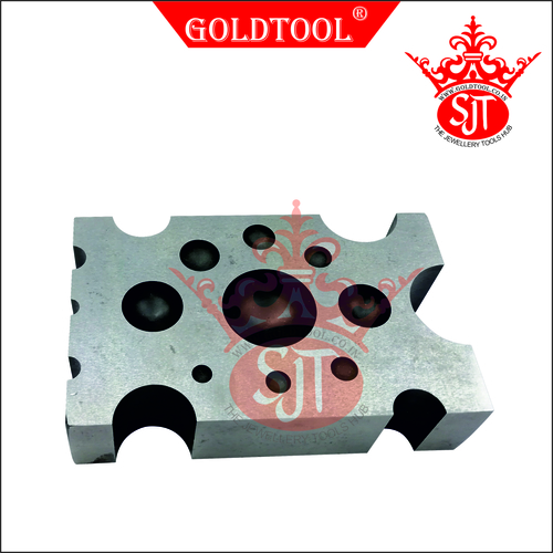 Gold Tool Dapping Block Grooving Plate