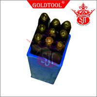 Gold Tool® 0 To 9 Stamp
