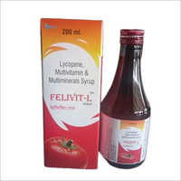 200 ml Lycopene Multivitamin and Multiminerals Syrup