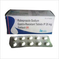 20 mg Rabeprazole Sodium Gastro Resistant Tablets