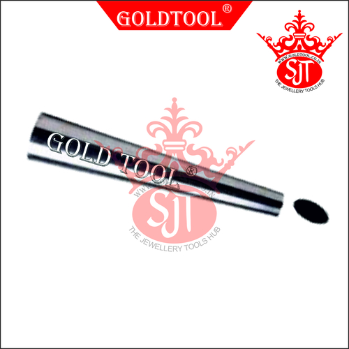 Gold Tool Bracelet Mandrel Oval