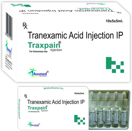 Tranexamic Acid IP 500mg./TRAXPAIN