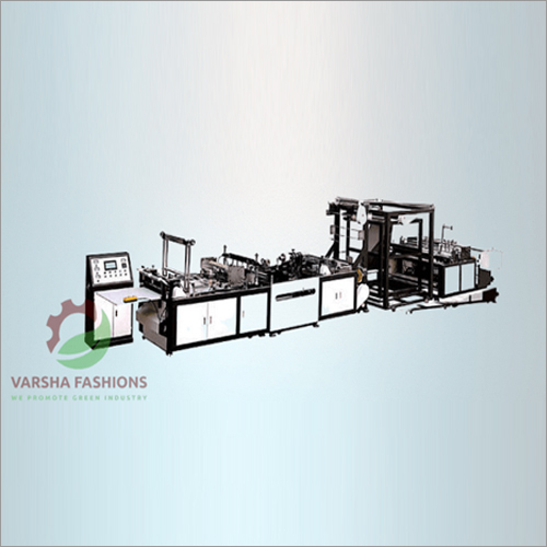 Non Woven Tri-Dimensional Box Bag Making Machine