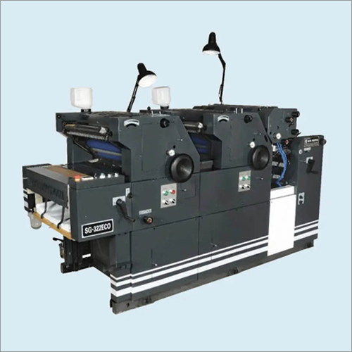 Multi Colour Non Woven Bag Printing Machine