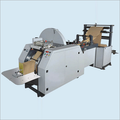 Paper Bag Making Machine with 2 Color Printing ON-line