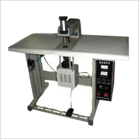 Ultrasonic Spot Welder for Handle Attachment