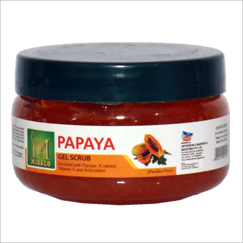 Papaya Gel Scrub