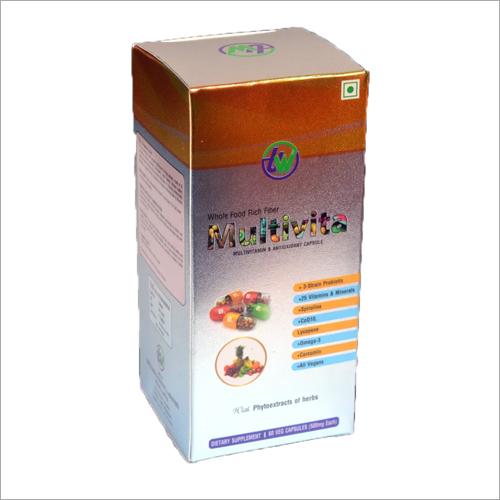 Multivitamain And Antioxidant Capsules