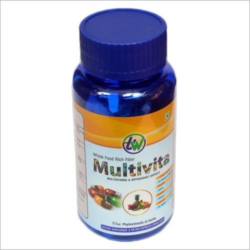 Multivitamin and Antioxidant Capsules