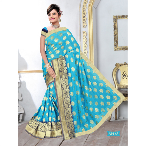 Ladies Banarasi Viscose Saree