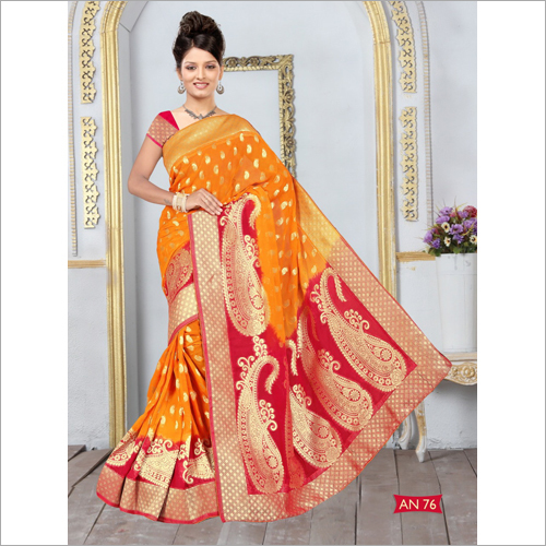 Ladies Banarasi Silk Viscose Saree