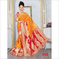 Ladies Banarasi Silk Viscose Saree