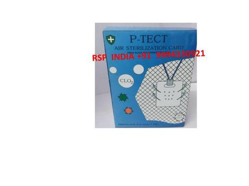 P Tect  Air Sterilization Card