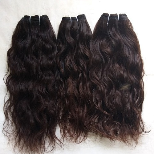 Unprocessed Wavy Human Hair Extensions