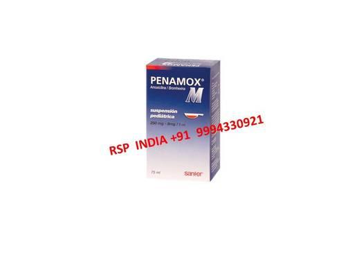 Penamox M Suspension 250mg-8mg-5ml